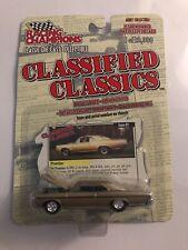 RACING CHAMPIONS CLASSIFIED CLASSICS 1966 PONTIAC GTO  1:64 SCALE