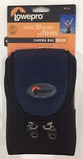 Lowepro MX 20 Navy Case Camera Pouch Bag Removable Strap Water Resistant NEW