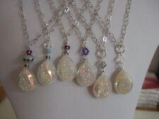 Pear Quartz Silver Plated Costume Necklaces & Pendants