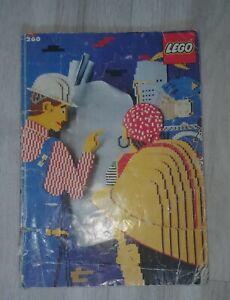 LEGO Idea Book 260,Ideen Buch Schlechter Zustand,'90,ohne Aufkleber,Bauanleitung