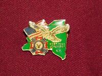 VINTAGE PIN PINBACK VFW POST 7062 ALTAMONT NY 50th ANNIVERSARY