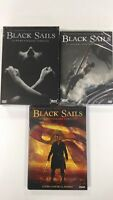 Black Sails - Serie Tv - Stagioni 1, 2 e 3 - Cofanetti Singoli 10 Dvd - Nuovi