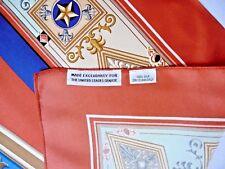 "THE UNITED STATES SENATE Silk Scarf NEW Rare Exclusive  34""x34"" Made in USA"
