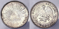 1 PESOS 1903 REPUBLIC MESSICO MEXICO ARGENTO SILVER BB VF #4716