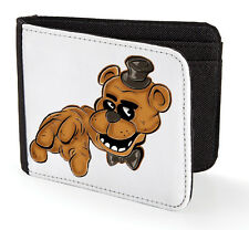 FREDDY JUST COLOUR FIVE NIGHT'S AT FREDDY'S BOYS KIDS WALLET CASH MONEY