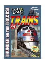 Lots and Lots of Trains DVD Movie Vol. 2 Free Shipping
