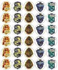 HARRY Potter CREST decorazioni per cupcake wafer commestibile carta di acquistare 2 ottenere 3rd libero