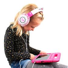 Children's 'Princess' Tiara Headphones in Pink & Purple for Tesco Hudl 2