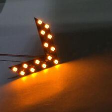 1x Yellow Light Arrow Panels 14-SMD LED Turning Signal Indicator Lamps