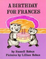 A Birthday for Frances Russell Hoban CHILDRENS AGES 4+ NEW! FREE SHIP! PAPERBACK