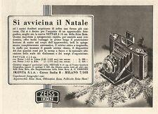 W2483 Zeiss Ikon Nettar - Si avvicina il natale... - Pubblicità 1938 - Old ad