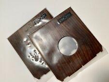 Genuine Ebony Lens Board Copal #0 4x5 8x10 Cameras New Old Stock Rare