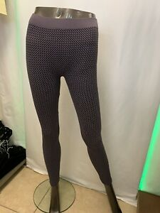 NIKIBIKI Womens Seamless Purple  Stretch Leggings One Size