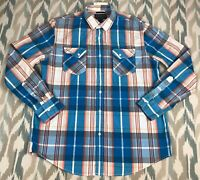 American Rag Cie Men's Button Down Long Sleeve Classic Shirt Size L Large