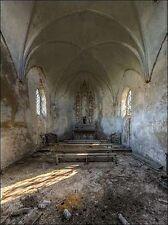 Ivo Sneeuw: Chapel de la Meuse II Keilrahmen-Bild Leinwand Interieur lost places