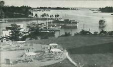 Irvington VA Yacht Cove 1949 Used Postcard