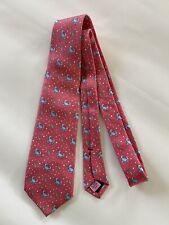 Vineyard Vines Boys Necktie Pink With Crabs