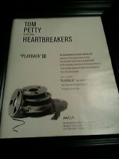 Tom Petty And The Heartbreakers Playback Rare Original Promo Poster Ad Framed!