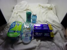 7 Pc. Lot Ladies Personal Hygiene Products-Razors-Toothpaste-Etc-New