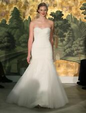 Anne Barge Hyacinthe Strapless Trumpet Lace Wedding Dress Strapless 10 $4.8K NEW
