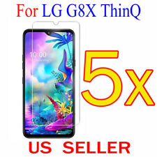5x Clear LCD Screen Protector Guard Cover Shield Film For LG G8X ThinQ  6.4""