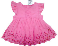••• ВNWT NEXT Girls • Pink Broderie Lace Blouse • 100% Cotton • 3-6 Months