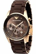 Emporio Armani AR5891 Brown Women's Chronograph Watch