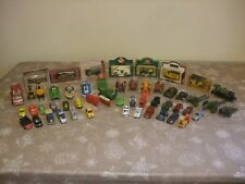 Job Lot Of 52 Vintage Diecast Lesney Dinky Welly Corgi etc Toy Cars Collection