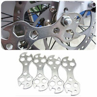 Bicycle Steel Flat Hexagon Pedal Bike Spanner Wrench Repair Tool Accessories PS
