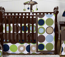 Polka Dot Baby Bedding Collection Crib Set for Newborn Boy by Sweet Jojo Designs