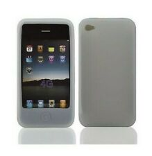 Funda Carcasa Silicona Gel IPHONE 4 4S Blanco