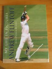 2004 Signed Andrew Flintoff book titled My Life in Pictures 1st edition vgc