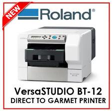 ROLAND DG - DIRECT TO GARMET PRINTER - VersaSTUDIO BT12 - PROTECH CNC