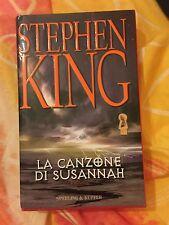 Libro stephen king la canzone di susannah copertina rigida lingua italiana 1°edi