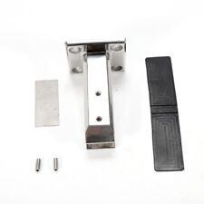 Stainless steel Stair handrail Glass Spigots Frameless Balustrade Post Clamp
