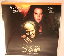 Laserdisc [a] *Snow White A Tale of Terror* Sigourney Weaver Sam Neil Widescreen