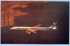 Vintage Postcard Universal Airlines McDonnell Douglas Dc8 plane (Mary Jayne's)