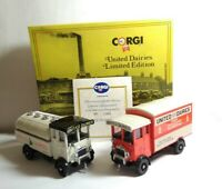 CORGI LIMITED EDITION DIECAST UNITED DAIRIES AEC CABOVER & TANKER - D67/1
