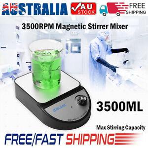 Ciblanc Magnetic Stirrer Mixer 3500rpm Max Stirring 3500ml Experiment Equipments