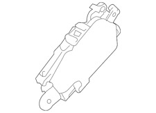 Genuine Subaru Lock Actuator 61100XA00A9E