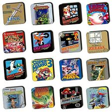 NES Games - Nintendo Entertainment System - Box Art - Wood Coasters - 4 For 3
