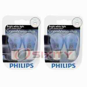 2 pc Philips Back Up Light Bulbs for Porsche 911 924 928 944 968 Boxster qy