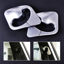 New Chrome Plated B Pillar Seat Belt Decoration Cover Trim Fit BMW X5 F15 X6 F1