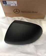 New Genuine Mercedes Benz W447 VITO N/S Passenger side mirror cover in black