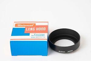 New In Box Universal Lens Hood - Screw-in / 40.5mm (JAPAN)