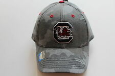 South Carolina Gamecocks Football Basketball College Cap Kappe Klett  Camo NCAA