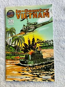In Country Vietnam #3 (Feb 2001, New England Comics) Mature FN 6.0