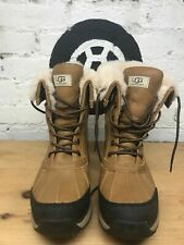 UGG Women's Shoes Waterproof Adirondack III Snow Boots Chestnut