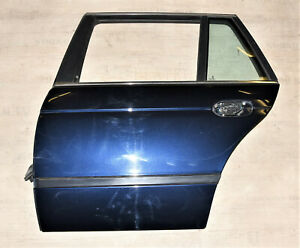 BMW E39 Touring Tür hinten links Fahrerseite Orientblau 317