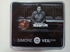 2 Euro Commémorative Bu France 2018 Simone Veil
